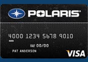 polaris Visa card